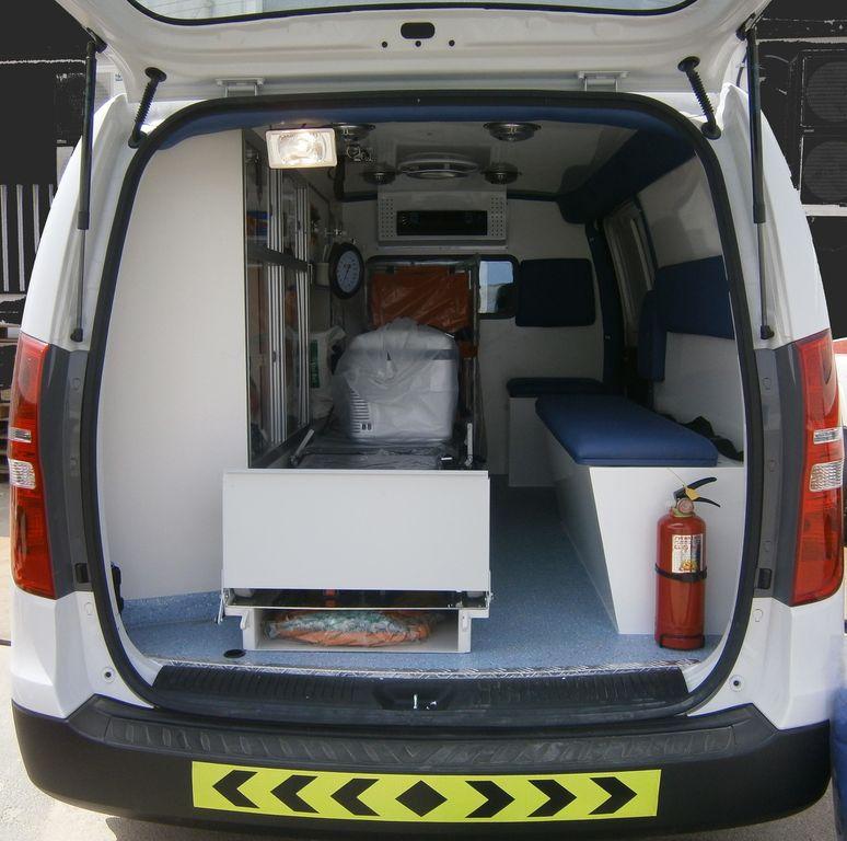 Hyundai h1 bestelwagen