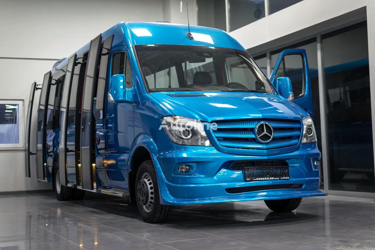 nieuw MERCEDES-BENZ 519CDI AUTOMATİC XXL+2DOORS passagier bestelwagen