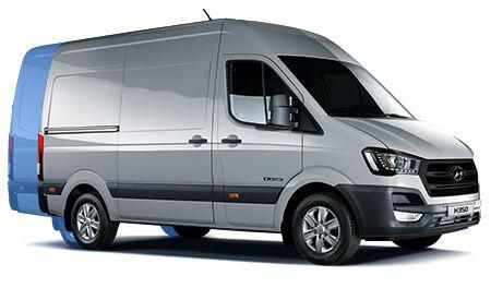 nieuw HYUNDAI H 350 isotherm bestelwagen