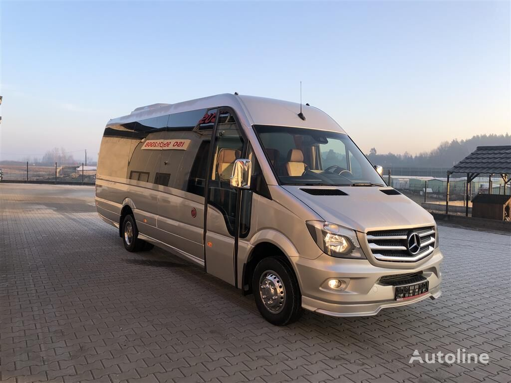 nieuw MERCEDES-BENZ 519CDI, 22+1+1Plätze Komfort XXXL-Verlängerung, Klima Front u. F passagier bestelwagen