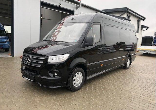 nieuw MERCEDES-BENZ Sprinter 319 CDI Neues Modell 907 Komb-Komfort 9 Sitzer , DVD,Kü passagier bestelwagen