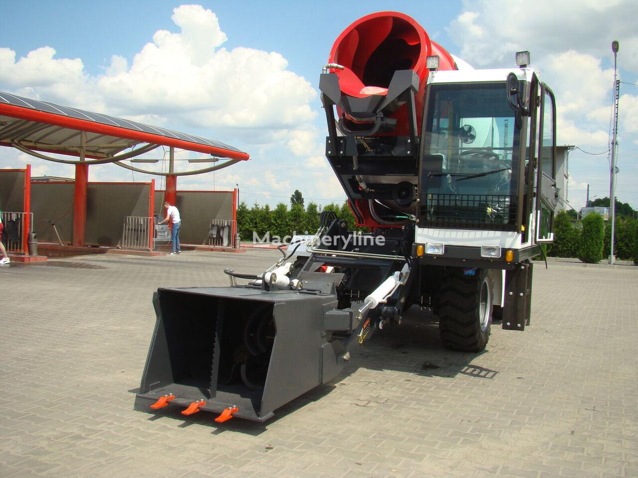 nieuw IMER Group JBC35R op chassis JCB JBC 35R betonmixer