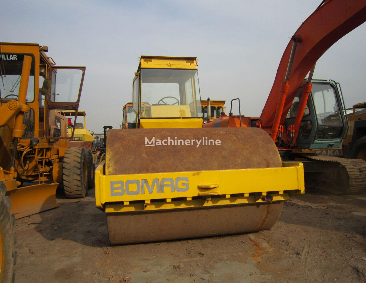 BOMAG BW213D grondwals