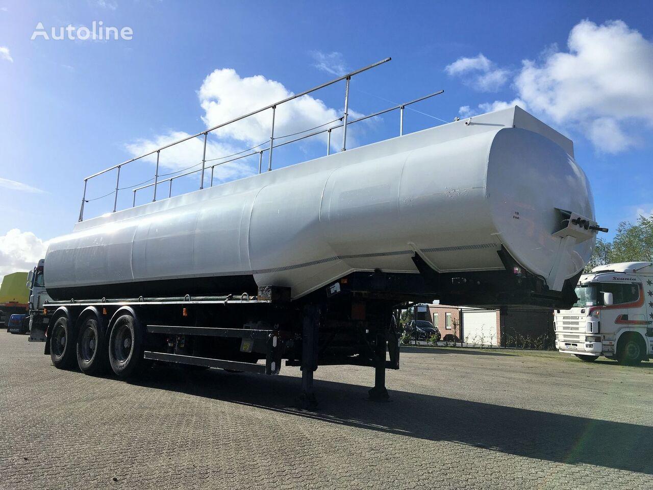 FRUEHAUF ADR 36.000ltr LGBF Diesel-Benzine brandstoftank oplegger