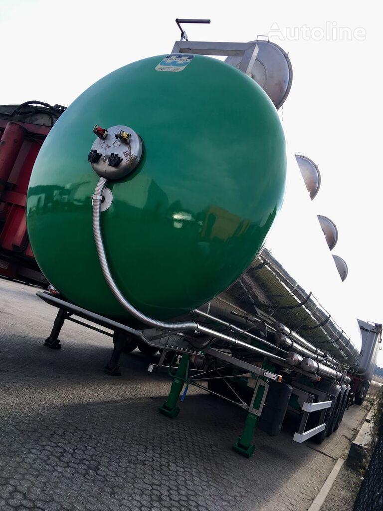 MAISONNEUVE ADR - 3 - 37.500ltr - 4k - 7.140kg chemische tank