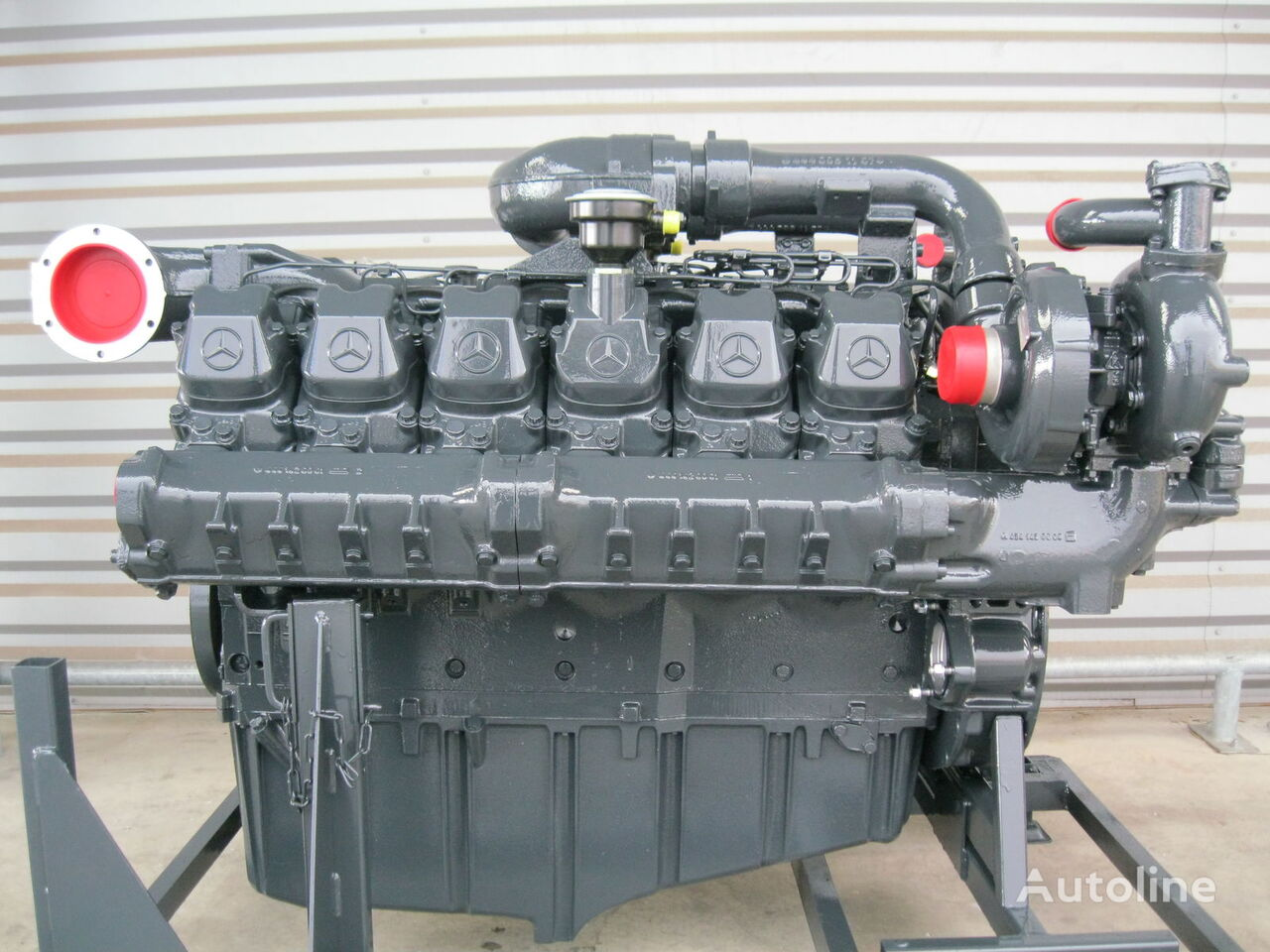 MERCEDES LIEBHERR motor voor mobiele kraan