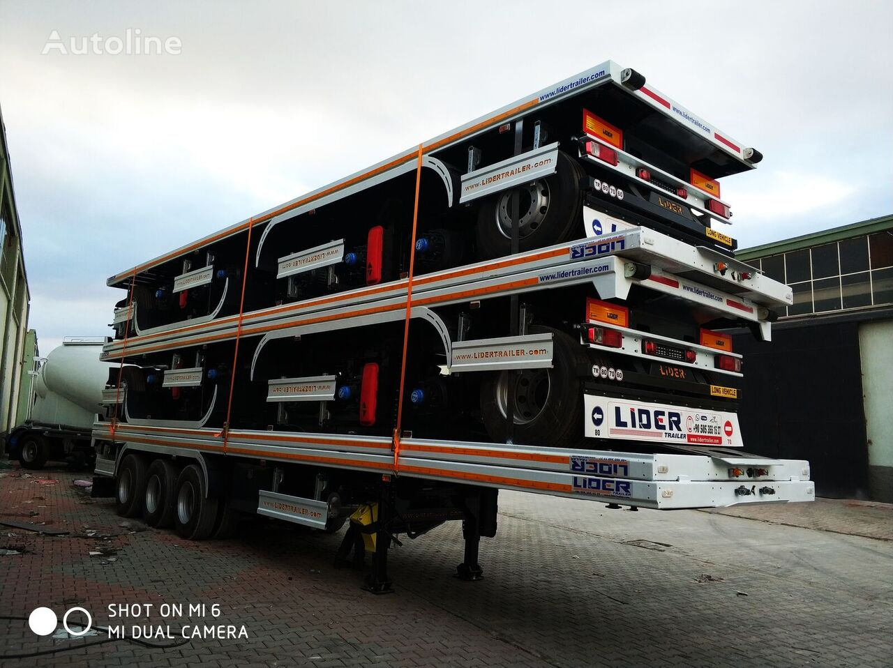 nieuw LIDER NEW 2020 MODELS YEAR (MANUFACTURER COMPANY LIDER TRAILER container oplegger