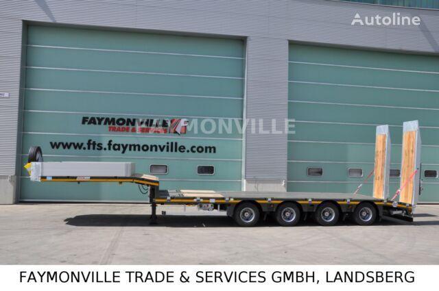 nieuw FAYMONVILLE MAX TRAILER MAX100 4A 8.60 U dieplader oplegger