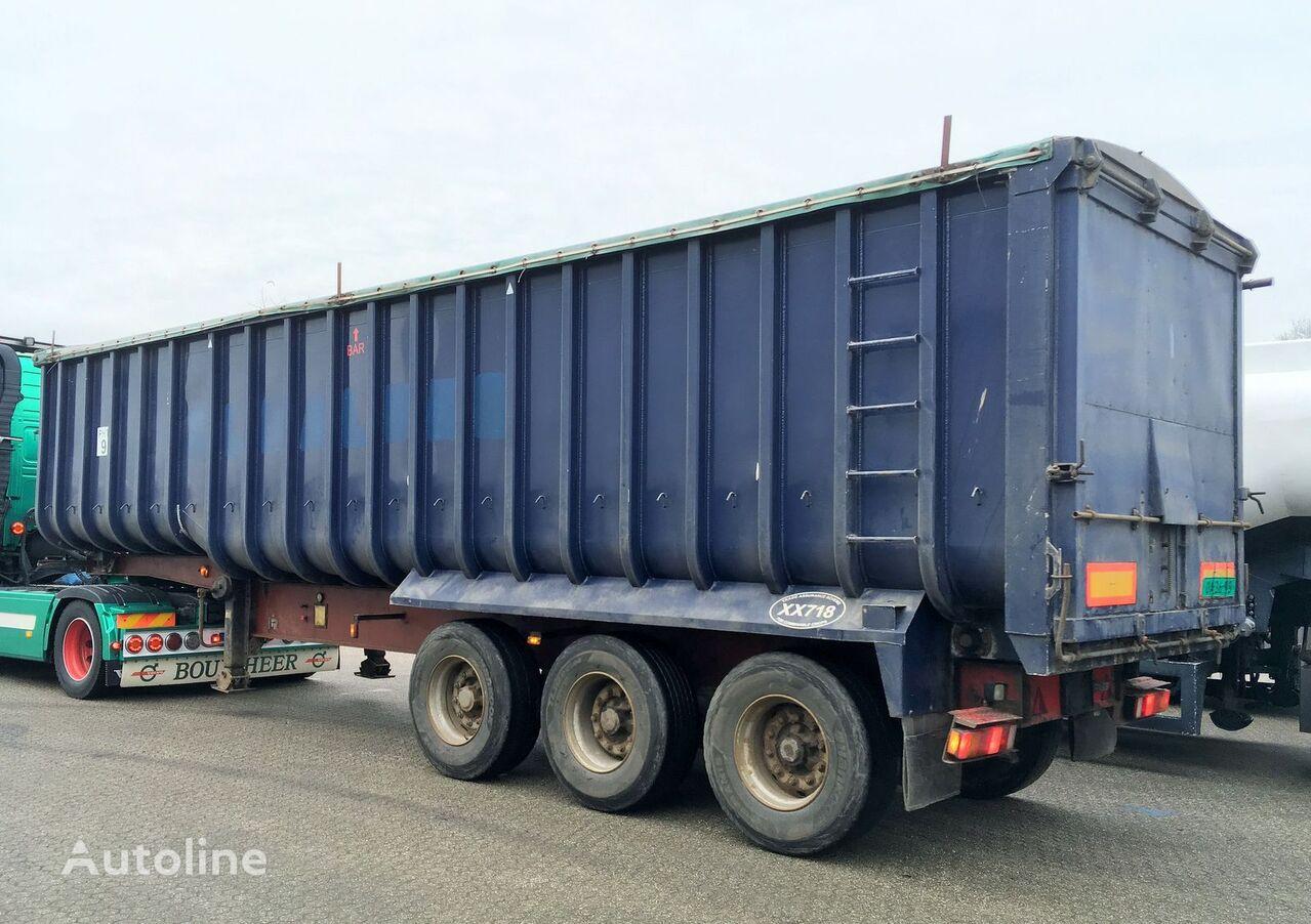 GENERAL-TRAILERS Kipper - Fruehauf 49m3 ALU/Steel - Cover graantruck oplegger