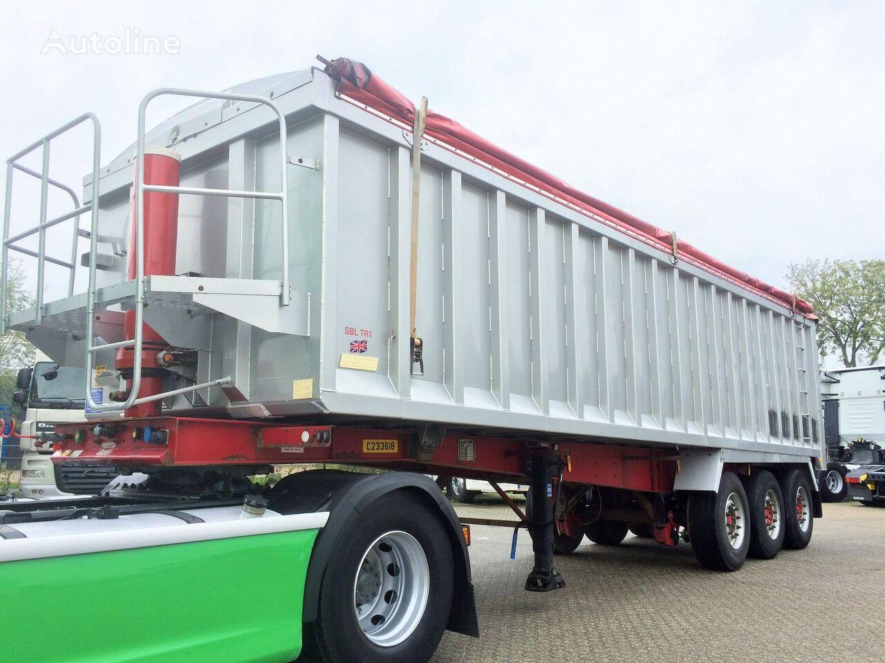 Weightlifter 47m3 ALU/STEEL graantruck oplegger