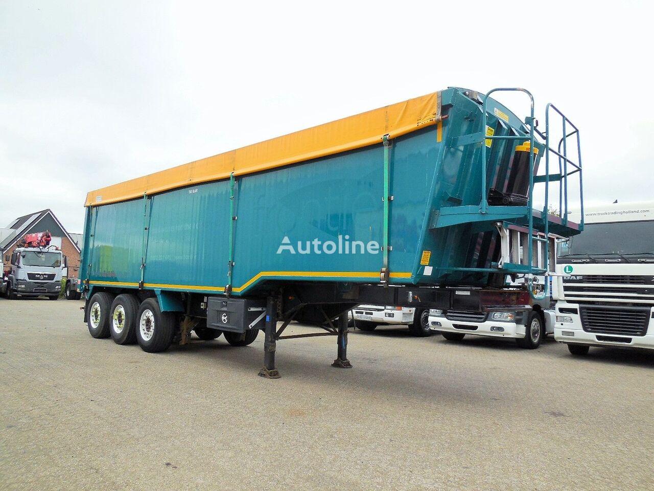 Weightlifter 51m3 - alu + steel chassis graantruck oplegger