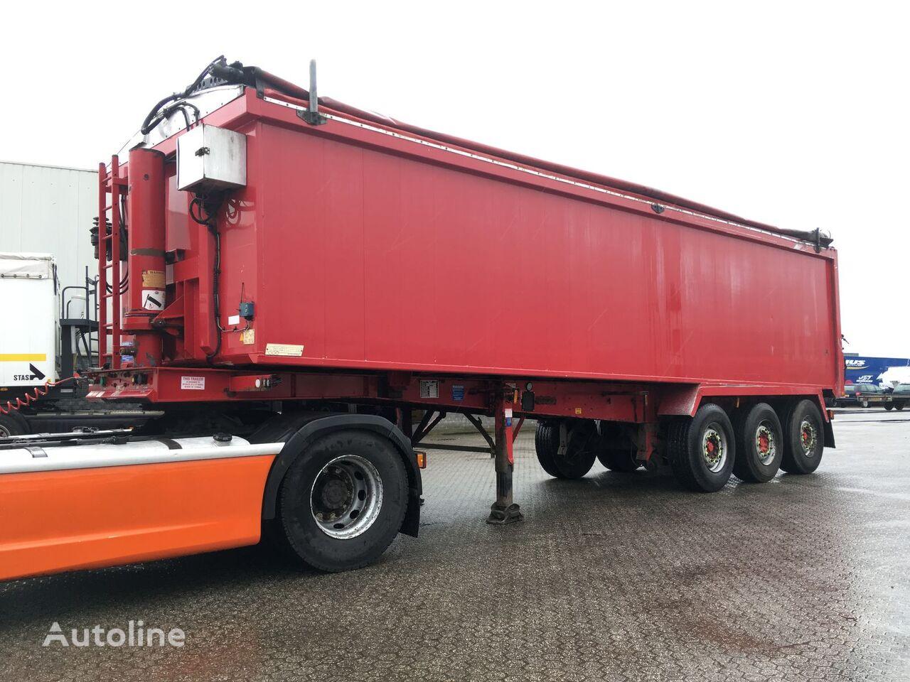 Weightlifter Kipper 42m3 graantruck oplegger