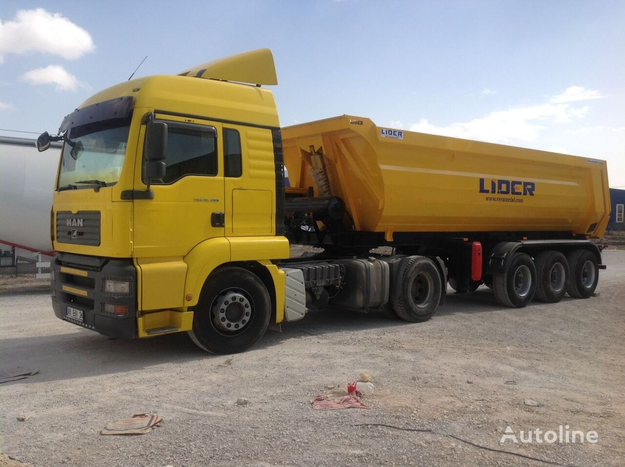 nieuw LIDER 2019 NEW DIRECTLY FROM MANUFACTURER COMPANY AVAILABLE IN STOCK kipper oplegger