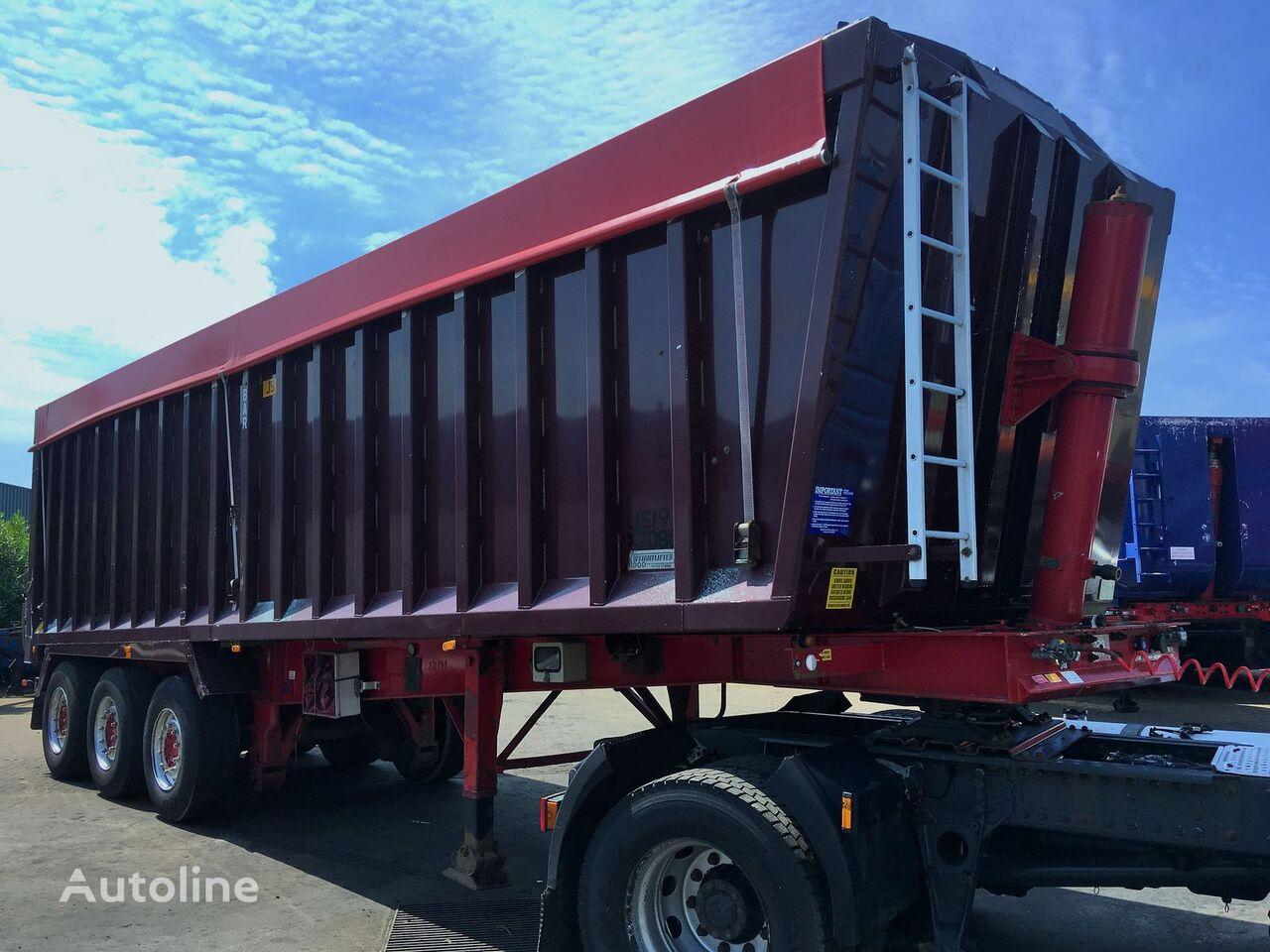 Weightlifter ALU tipper 53m3 kipper oplegger