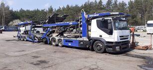 IVECO autotransporter + autotransporter aanhanger