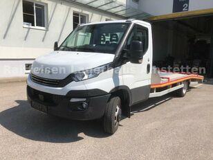 IVECO Daily 50 C 18 Járműszállító Csörlővel és Rámpával autotransporter