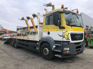 MAN TGS 26.360 6x2 Járműszállító Csörlővel és Rámpával autotransporter