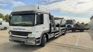 MERCEDES-BENZ Atego 1323 / 7 Cars / Winch / Airco autotransporter + autotransporter aanhanger
