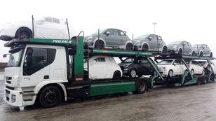 IVECO STRALIS 450 autotransporter + autotransporter aanhanger