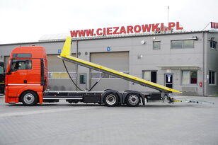 MAN TGX 26.440 XXL , E6 , 6X2 , NEW BODY 7,5m , hydraulic , 2x winch autotransporter
