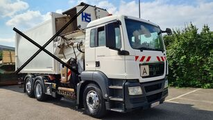 MAN TGS 26.320 LL 6x2 Fahrgestell Chassi rigth hand chassis vrachtwagen