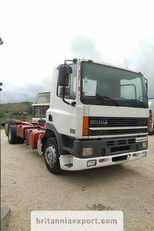DAF CF85 380 left hand drive manual pump 6X2 26 ton  chassis vrachtwagen