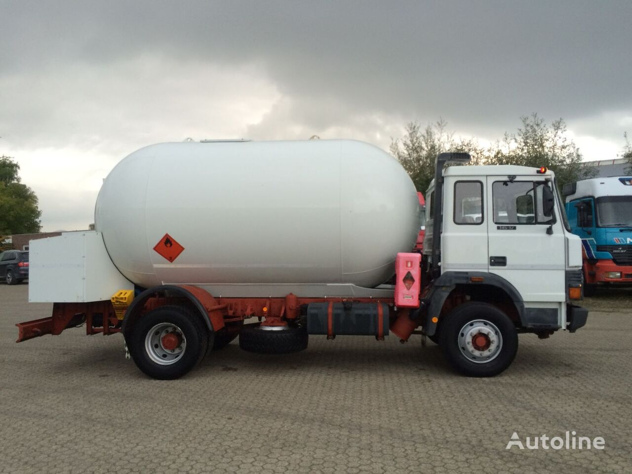 IVECO ACERBI 16.000 gas tank truck