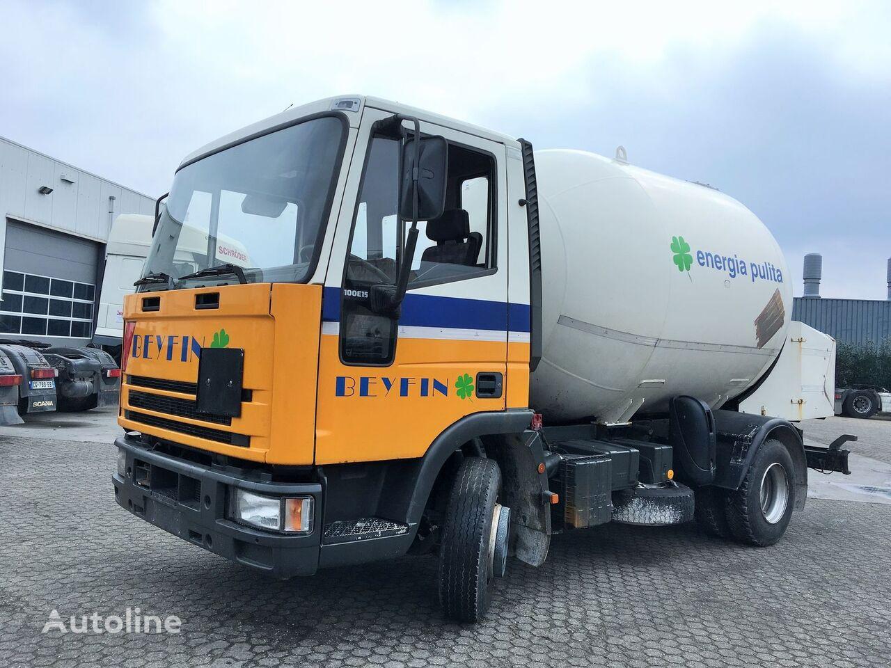 IVECO Iveco Gas - Gaz - ADR 2 - 10.000ltr - 27Bar - P27BH gas tank truck