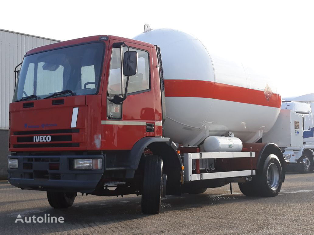 IVECO Iveco Gas - Gaz - ADR 2 - 16.000ltr - 25Bar - P25BH gas tank truck