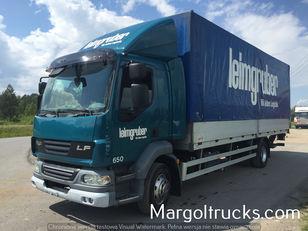 DAF LF 55 250 plandeka + winda Sprowadzony ze Szwajcarii huifzeilen vrachtwagen