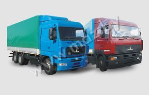 nieuw MAZ 6312 (A5, A8, A9) huifzeilen vrachtwagen
