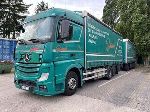 MERCEDES-BENZ 2545 L 6X2 ACTROS / EURO 6 huifzeilen vrachtwagen