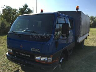MITSUBISHI CANTER DOKA P+P 4m-es platóval huifzeilen vrachtwagen
