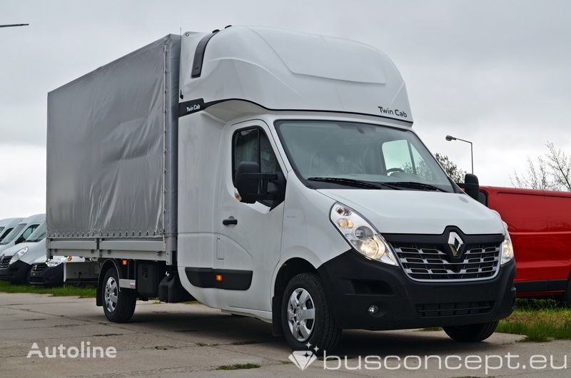 nieuw RENAULT Master 8EP - Twin Cab ( Fridge & Table)) huifzeilen vrachtwagen