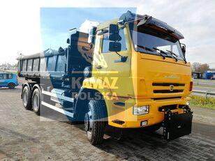 nieuw KAMAZ 6x6 wywrotka kipper vrachtwagen