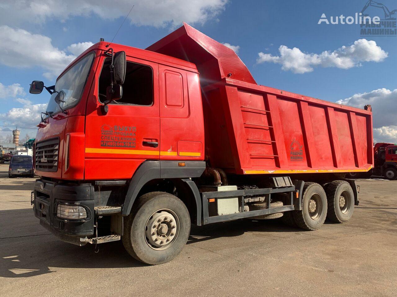 MAZ 6501 kipper vrachtwagen