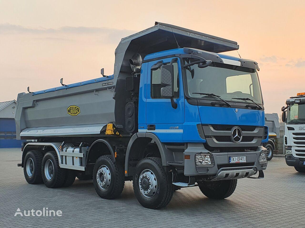 MERCEDES-BENZ ACTROS 4148 8x6 53080 km - 3633 mtg / RETARDER / kipper vrachtwagen