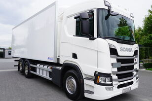 SCANIA SCANIA R500, Euro 6, 6x2, 19 EPAL refrigerator , lifting axle, N koelwagen vrachtwagen