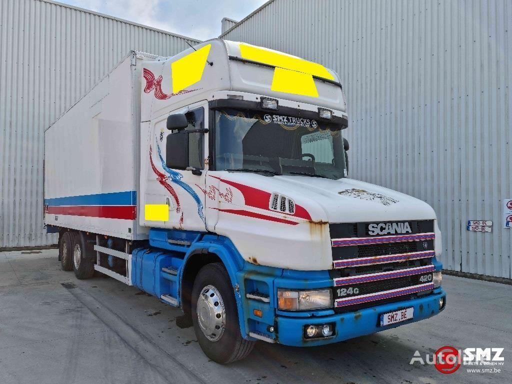 SCANIA 124 420 Torpedo Topline koelwagen vrachtwagen