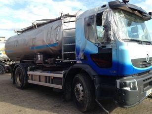 Beschadigde RENAULT PREMIUM 430 DXI melkwagen