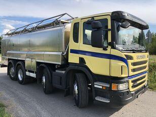 SCANIA P 400 KM 8x2 Beczka Do Mleka Sprowadzona Ze Szwajcarii melkwagen