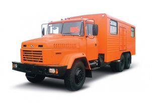 nieuw KRAZ 65053 мастерская  militaire voertuigen