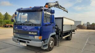 DAF 45.160 Ti / 8 x Bolts Full Spring / HIAB 060 open laadbak vrachtwagen