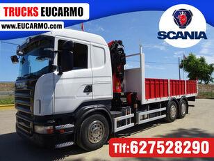 SCANIA R 420 open laadbak vrachtwagen