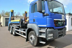 MAN TGS 26.400 6x4 portaalarmsysteem truck