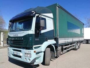 IVECO STRALIS AT260S35 YPS TELONATO 9,6 METRI, SPONDA DAUTEL 2 TON schuifzeilen vrachtwagen