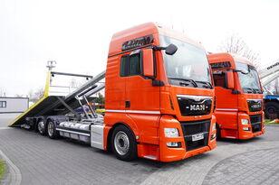 MAN TGX 26.440 XXL , E6 , 6X2 , NEW BODY 7,5m , hydraulic , 2x winch takelwagen