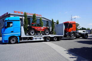 MERCEDES-BENZ Actros 2542 , E6 , MEGA , NEW BODY , car tow 10T , hydraulic ram takelwagen