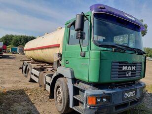 MAN 28-364 6x2, 6 cylinder, resor przód tank truck