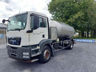 MAN TGS 18.360 - citerne en inox isotherme-2 compartiments tank truck